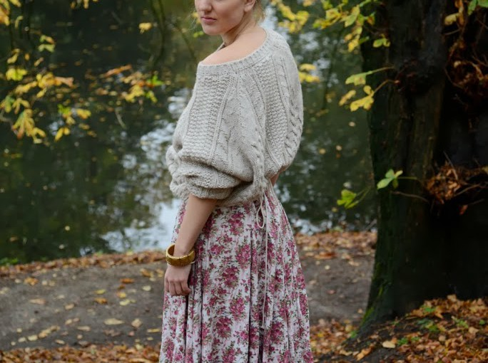 flowers and knits
