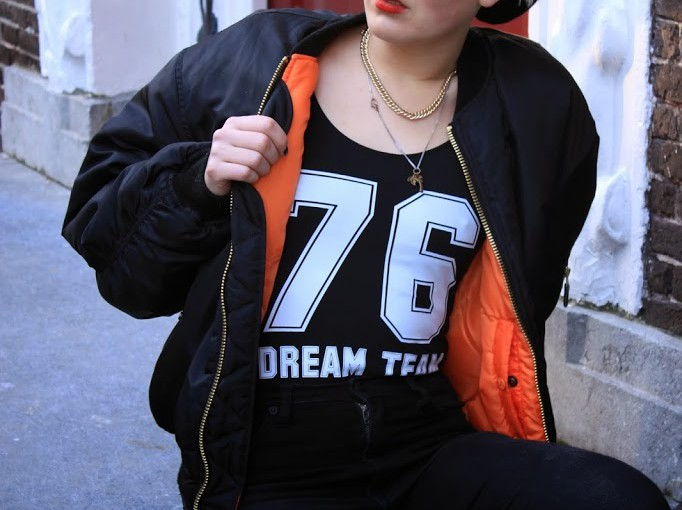 OOTD | DREAM TEAM feat. The Bomber Jacket